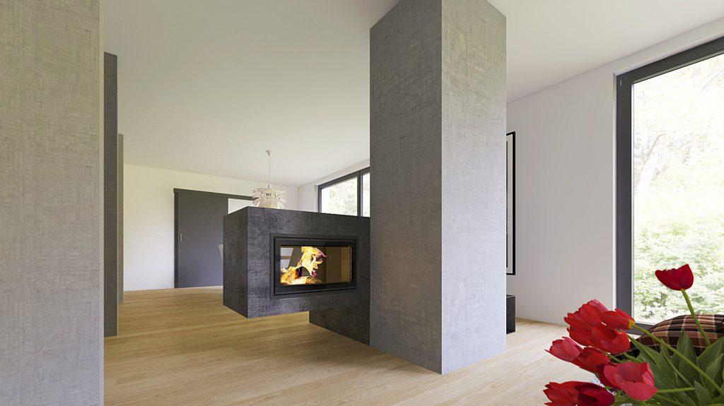 Wohnung Mit Säulen